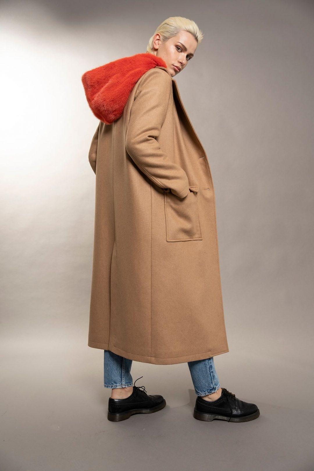 idalou collezione fall-winter 2021 pelliccia